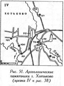 Археология города Хотьково