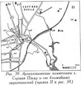 Археология города Сергиев Посад