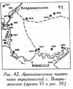 Археология села Воздвиженское