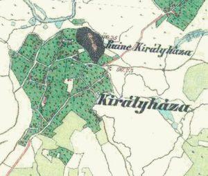 Австрійска карта 19 століття