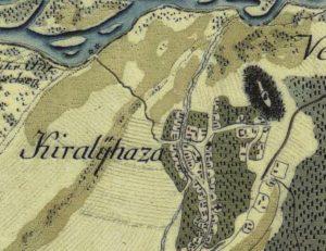 Австрійська карта другої половини 18 століття