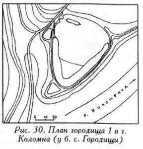 Городище в Коломне