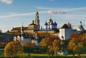 Монастырь в Сергиевом Посаде