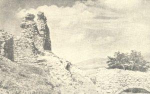 Південна стіна і барбакан, фото другої половини ХХ століття