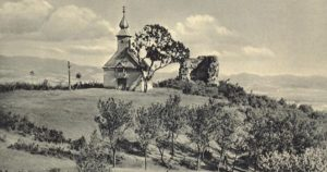 Південна тераса, каплиця і кілевидна башта