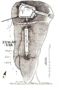 План фортеці Шоуша Елемера, початок ХХ століття