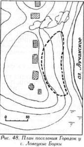 Поселение у села Ловецкие Борки