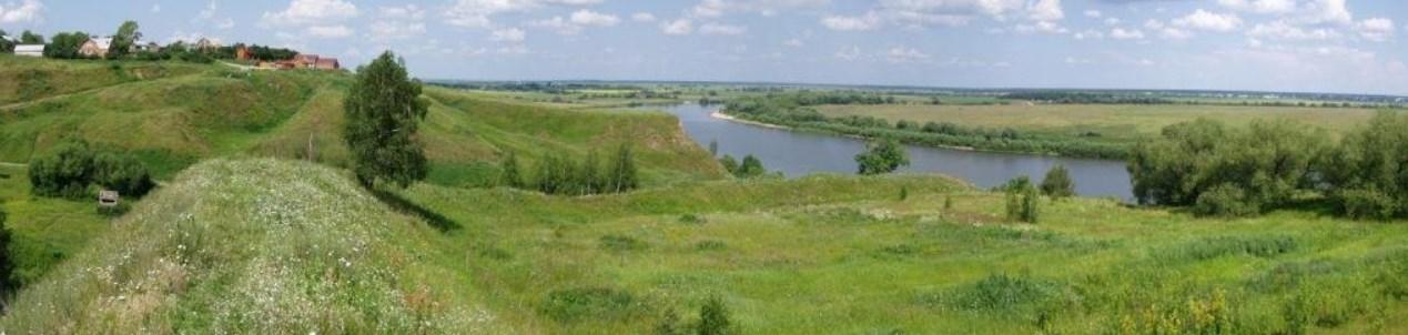 Вал городища в Перевитском Торжке