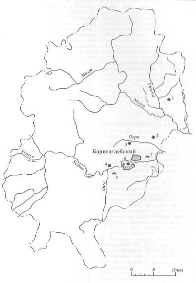 Археология Борисоглебского района
