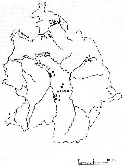 Археология Мглинского района
