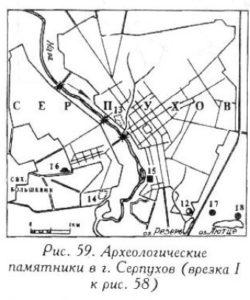 Археология города Серпухов