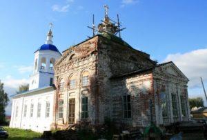 Храм архангела Михаила в села Шошка