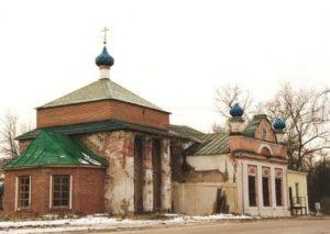 Никольская церковь в Гаврилово-Яме