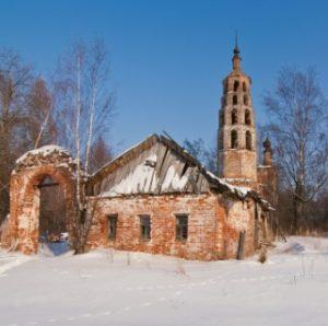 Никольская церковь в селе Никола-Раменье