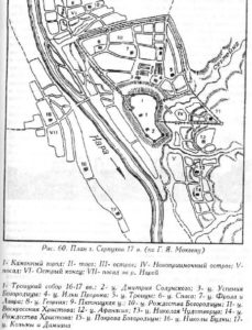 План города Серпухов