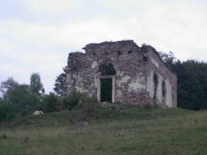 Споруда на кладовищі - склеп або каплиця