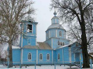 Церковь Архангела Михаила в селе Бобрик