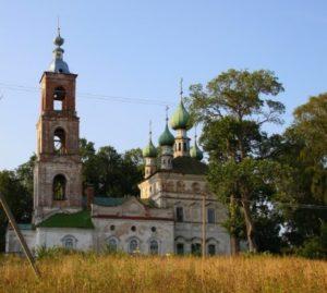 Церковь Святого Федора Стратилата в селе Стратилата