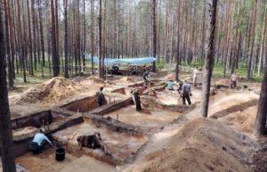 Исследование древнего поселения