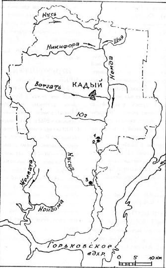 Археология и древняя история Кадыйского района