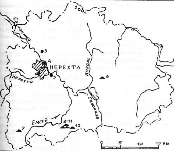Археология и древняя история Нерехтского района