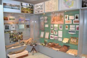 Экспозиция дрожжановского краеведческого музея