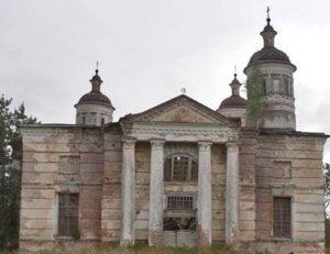 Казанская церковь в селе Бушнево