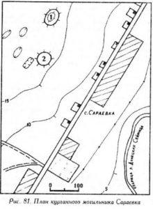 Курганный могильник Сараевка