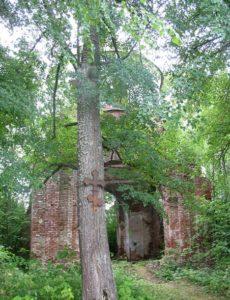 Николаевская церковь в села Шангское Городище