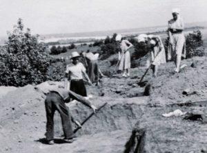 Раскопки в Чебаково
