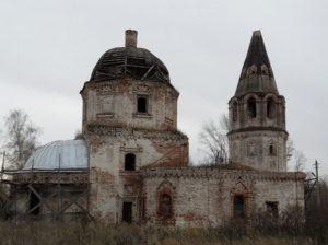 Спасская церковь в селе Кулаево