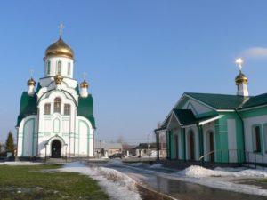 Свято-Троицкий храм в деревне Мансурово