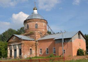 Церковь Дмитрия Солунского в Средних Апочках