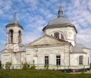 Церковь Дмитрия Солунского в Успенке