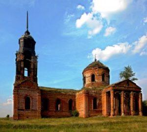 Церковь Николая Чудотворца в селе Гололобовка