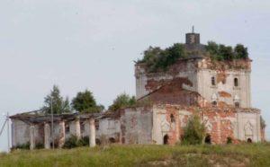 Церковь Спаса Преображения в селе Столпино