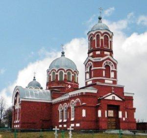Церковь Троицы Живоначальной в Карпуневке