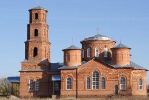 Церковь Вадимирской иконы Божьей Матери в селе Стаканово