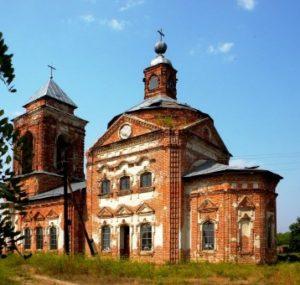 Церковь Воздвижения Креста Господня в Рогозне