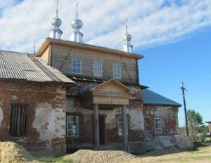 Троицкая церковь в селе Георгиевское