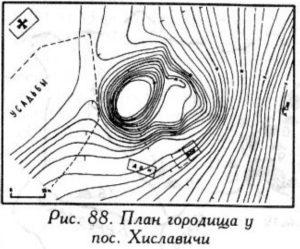 Городище у поселка Хиславичи