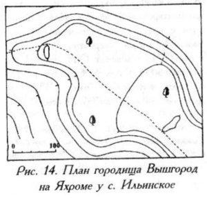 Городище у села Ильинское