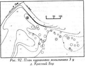 Курганный могильник у деревни Красный Бор