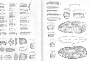 Находки с мезолитической стоянки Турун-Нюр