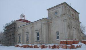 Троицкая церковь в Чучково