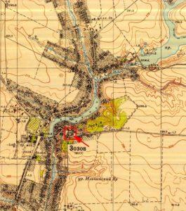 Радянська топографічна карта