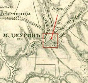 Трьохверстова карта Шуберта 1868 року