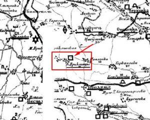 Археологічна карта Сіцінського