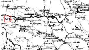 Городище на археологічній карті Сіцінського