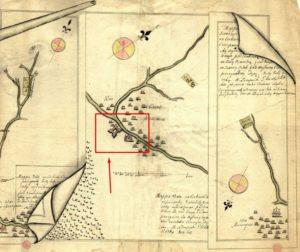 Карта 1764 року